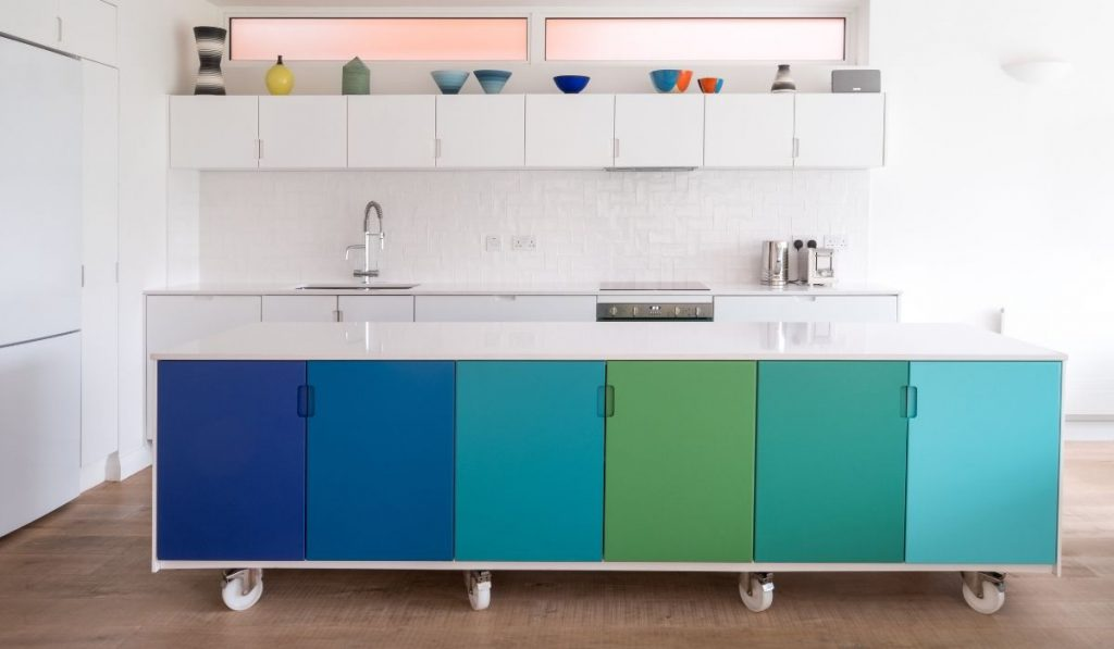 kitchen island on wheels